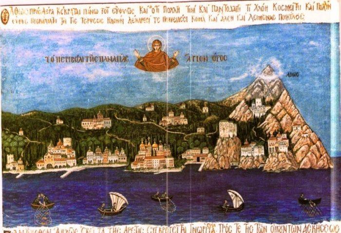 Άγιο Όρος: Το γενέθλιο της Παναγίας στον Άθωνα