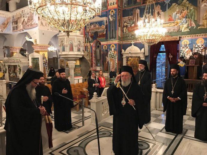 Λαμπρός εορτασμός του Οσίου Ιωάννου του Ρώσσου, στο Νέο Προκόπιο Ευβοίας