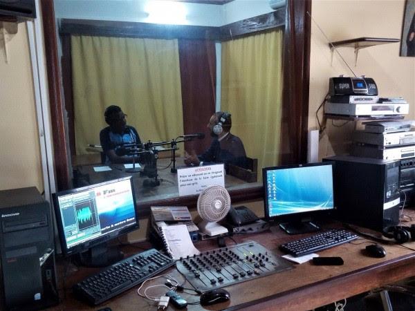 Ο Ραδιοφωνικός Σταθμός της Ι. Μητροπόλεως Μπραζαβίλ