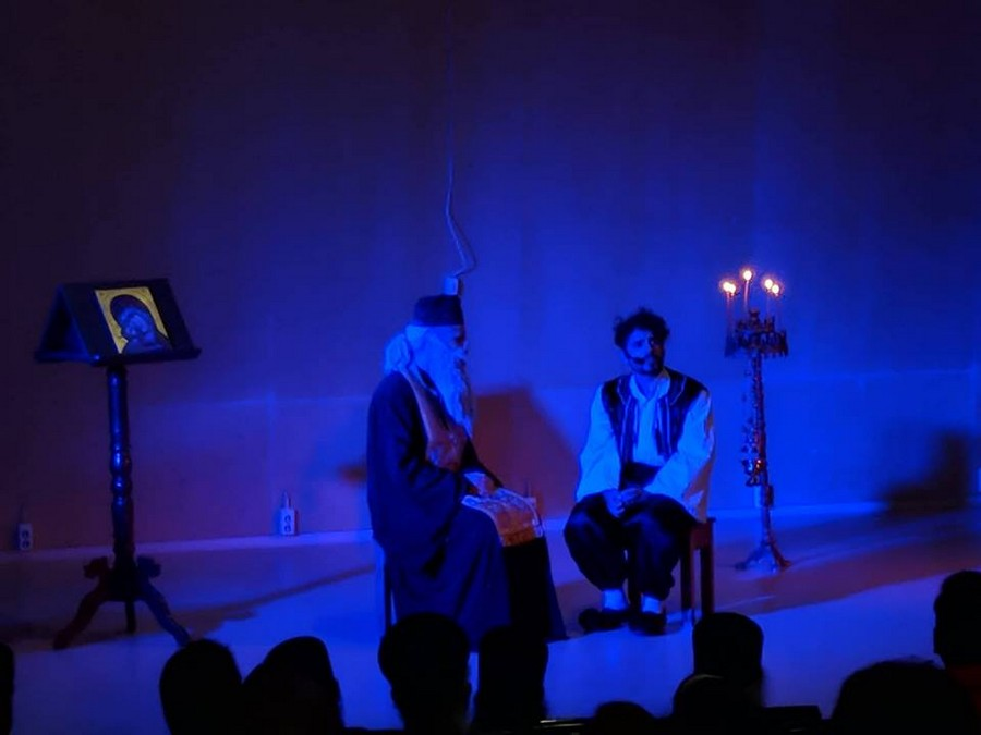 Θεατρική παράσταση στην Τρίπολη - «Ο ΝΕΟΜΑΡΤΥΣ ΠΑΥΛΟΣ»