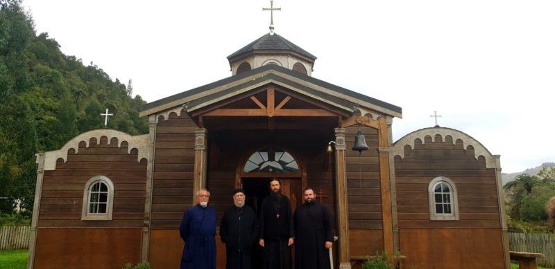 Επίσκεψη στην Ιερά Μονή Αρχαγγέλων Levin στη Νέα Ζηλανδία