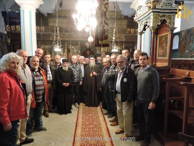 Άρτα: Αρχιερατική Θεία Λειτουργία στην Ιερά Μονή Αγ. Αικατερίνης Καταρράκτη
