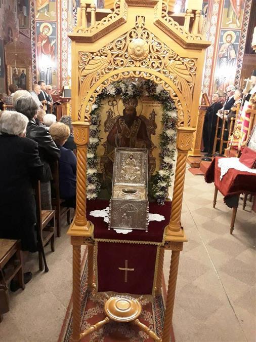 Λαμπρή εορτή του Αγίου Ιερομάρτυρος Σεραφείμ στον τόπο του μαρτυρίου του στο Φανάρι