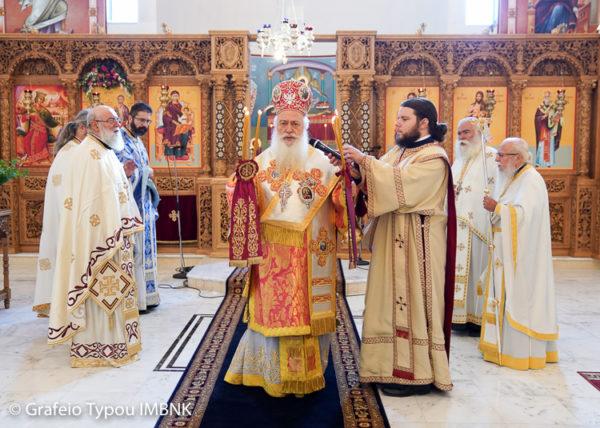 Πανηγύρισε ο Ιερός Ναός Αγίων Νεομαρτύρων Αθανασίου και Ιωάννου των Κουλακιωτών στη Χαλάστρα Θεσσαλονίκης