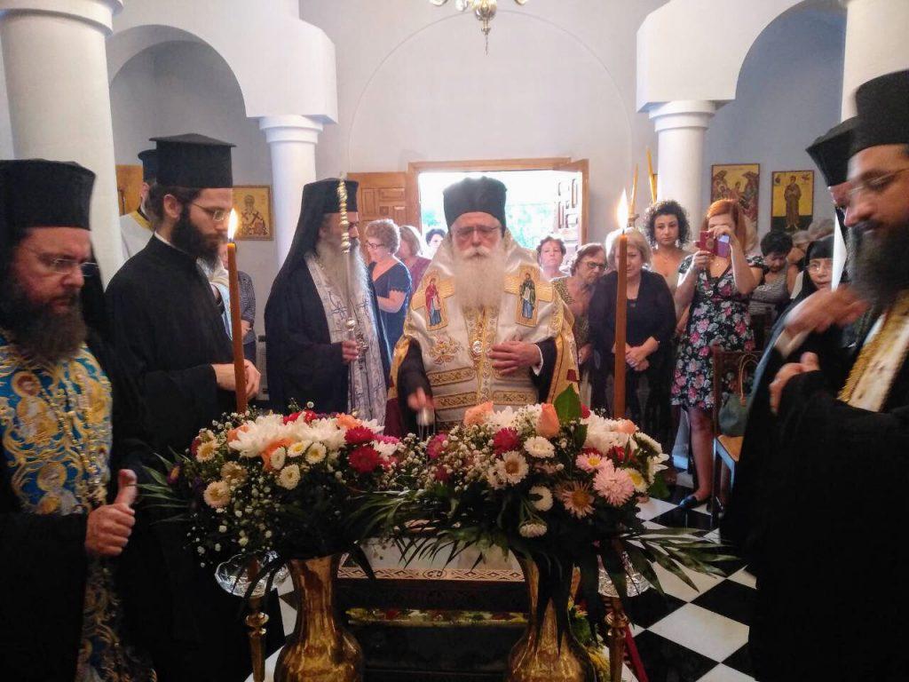 Λαμπρή Εορτή της Τιμίας Ζώνης στη Μητρόπολη Δημητριάδος
