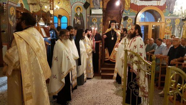 Αμμόχωστος: Πλήθος πιστών στην εορτή της Ανάμνησις του εν Χώναις Θαύματος του Αρχαγγέλου Μιχαήλ