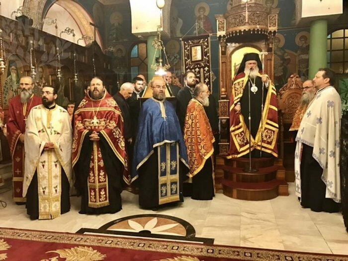 Ο εορτασμός του Αγίου Δημητρίου στην Μητρόπολη Νεαπόλεως