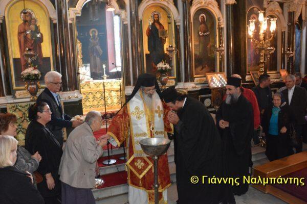 Αρχιερατική Θεία Λειτουργία για την επέτειο 14 ετών από την χειροτονία του Αλεξανδρουπόλεως Ανθίμου