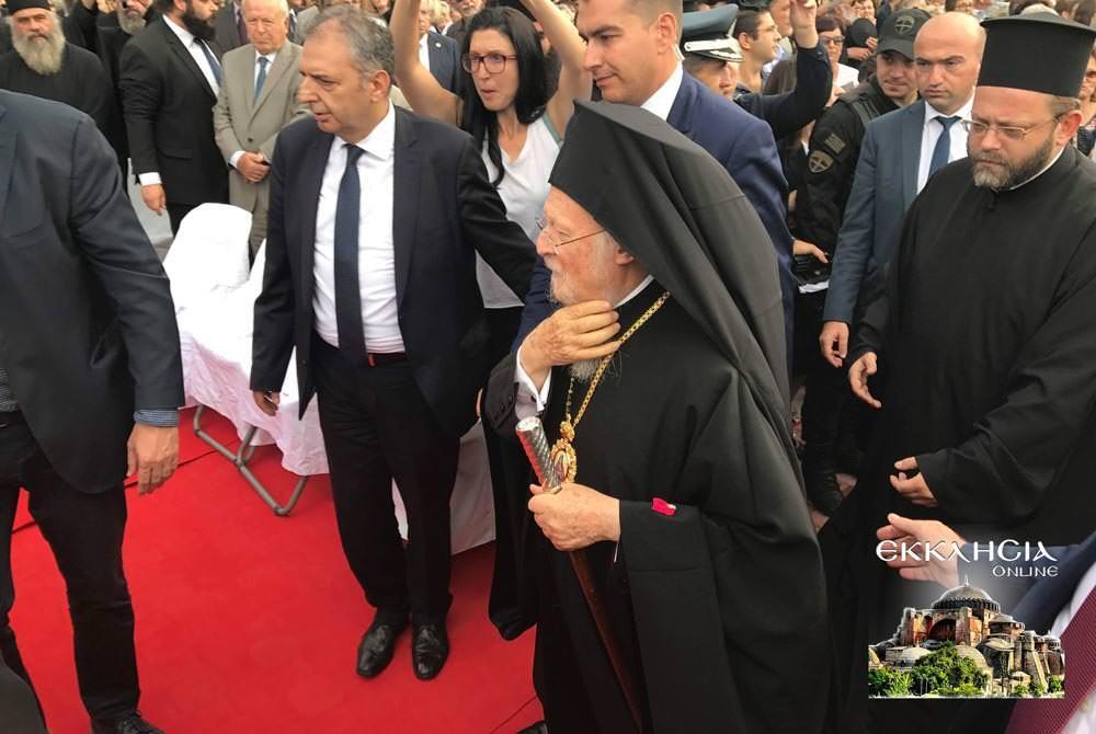 θυρανοίξια Οσίου Νικηφόρου Λεπρού οικουμενικός πατριάρχης Βαρθολομαίος