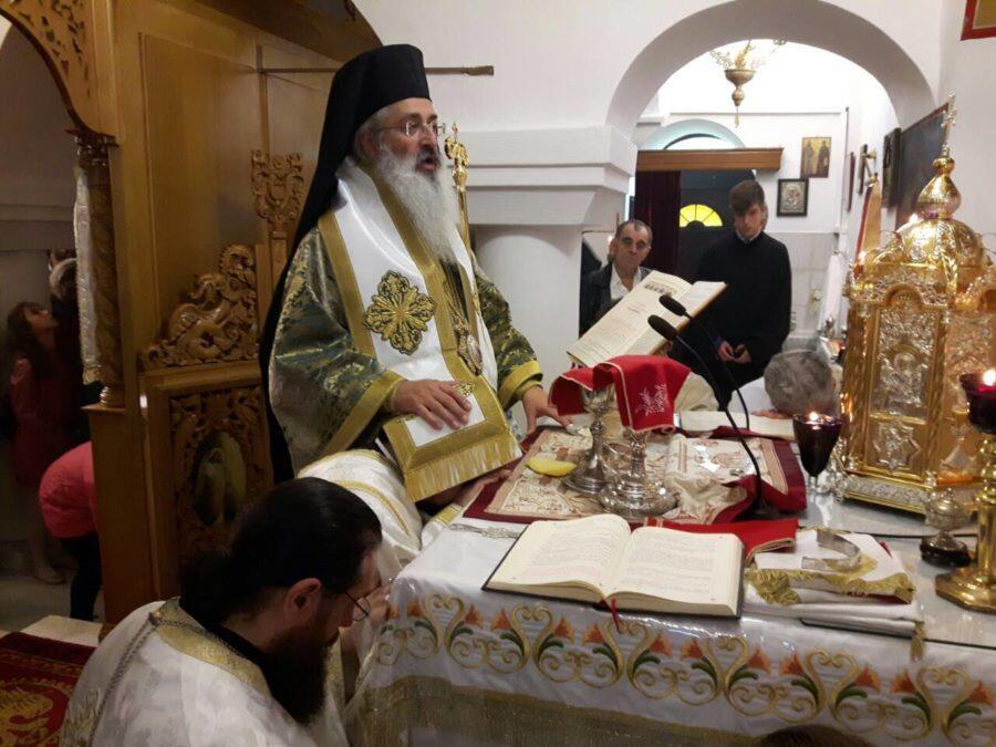 Χειροτονία νέου ιεροδιακόνου και θυρανοίξια παρεκκλησίου στη Μητρόπολη Αλεξανδρουπόλεως