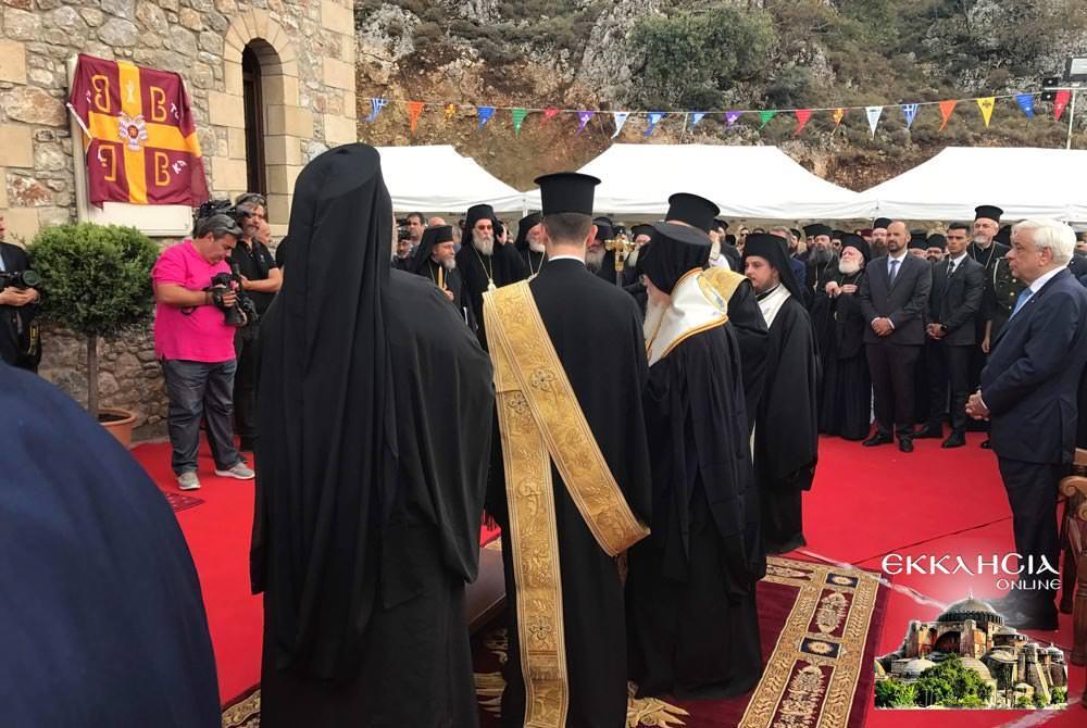 θυρανοίξια Ιερού Ναού Οσίου Νικηφόρου Λεπρού