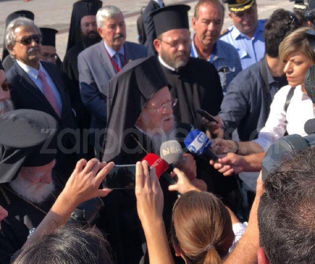 Στα Χανιά ο Οικουμενικός Πατριάρχης