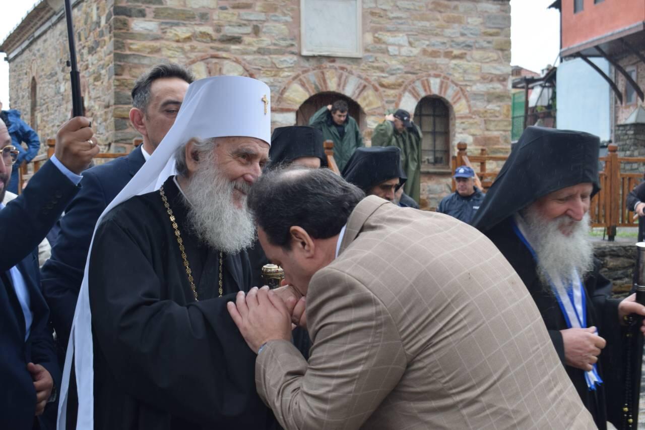 Στο Άγιο Όρος ο Πατριάρχης Σερβίας