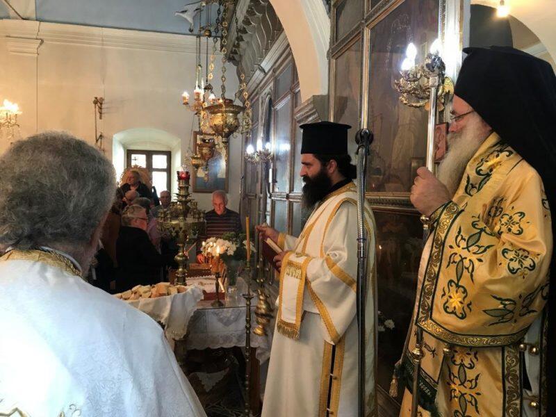 Αρχιερατική Θεία Λειτουργία στην Ενορία Λάστρου Σητείας