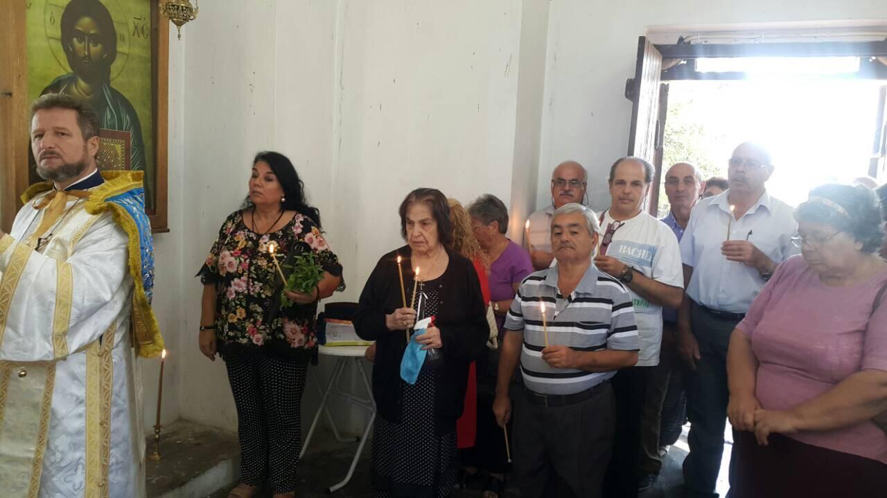 Θεία Λειτουργία στον τάφο του Αποστόλου Βαρνάβα