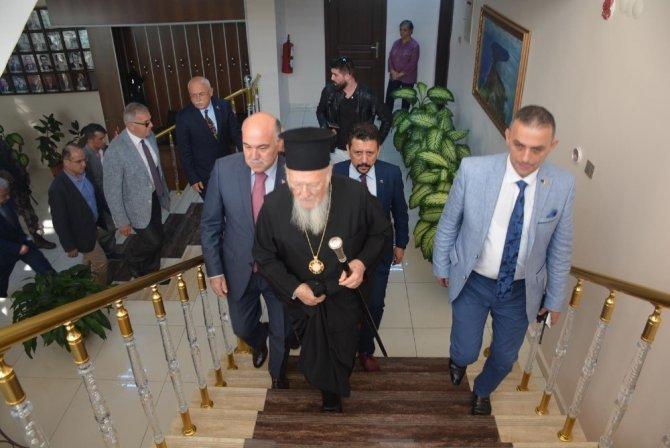 Ο Οικουμενικός Πατριάρχης στη Σινώπη του Πόντου