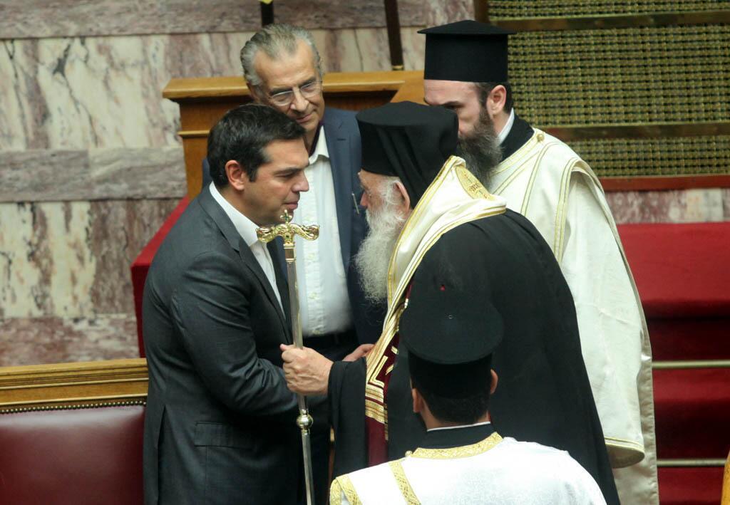 Αγιασμός στην Βουλή για την έναρξη της Δ΄ Συνόδου της ΙΖ Περιόδου