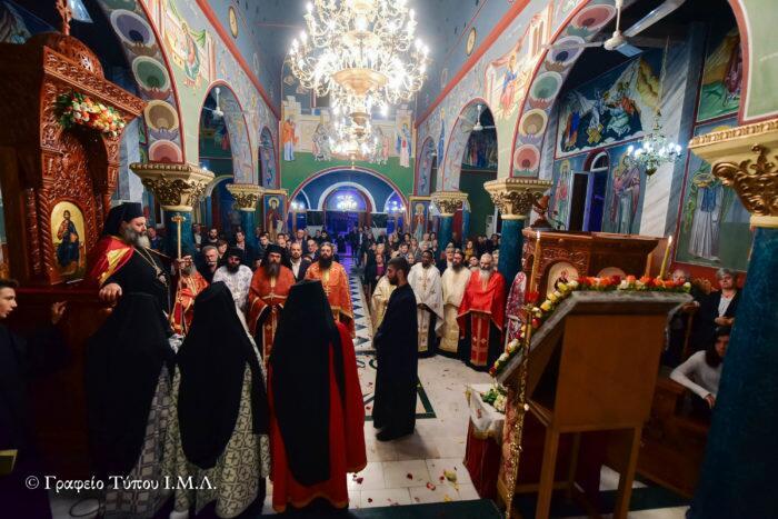 Μητρόπολη Λαγκαδά: Εσπερινός Μεγάλης Εβδομάδος Αγίου Δημητρίου