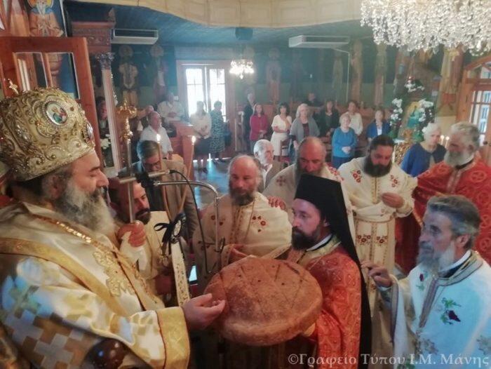 Λαμπρή εορτή του Αγίου και Ευαγγελιστού Λουκά στην Ι.Μ. Μάνης