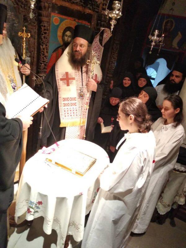 Κουρές Μοναχών στην Ιερά Μονή Κοιμήσεως της Θεοτόκου Κορμπόβου