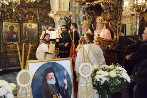 Μύκονος: Μνημόσυνο Μακαριστού Αρχιεπισκόπου Χριστοδούλου
