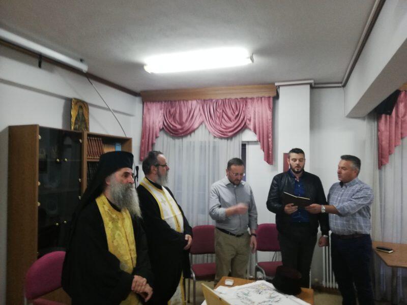 Αγιασμός για την έναρξη των μαθημάτων της Σχολής Βυζαντινής Μουσικής της Ι. Μητροπόλεως Κίτρους