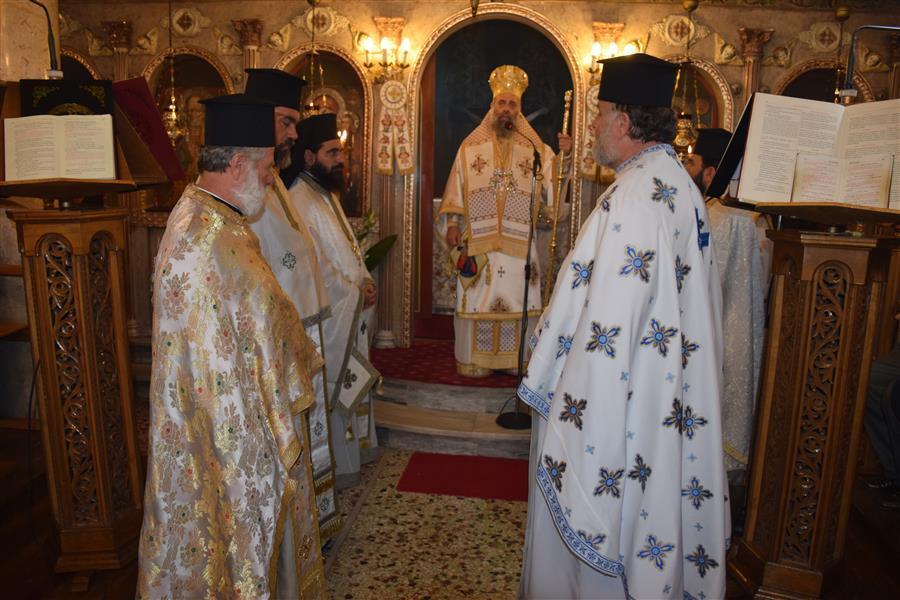 Λαμπρά Εγκαίνια Ιερού Ναού Αγίου Νικολάου Τ.Κ. Ξυνονερίου