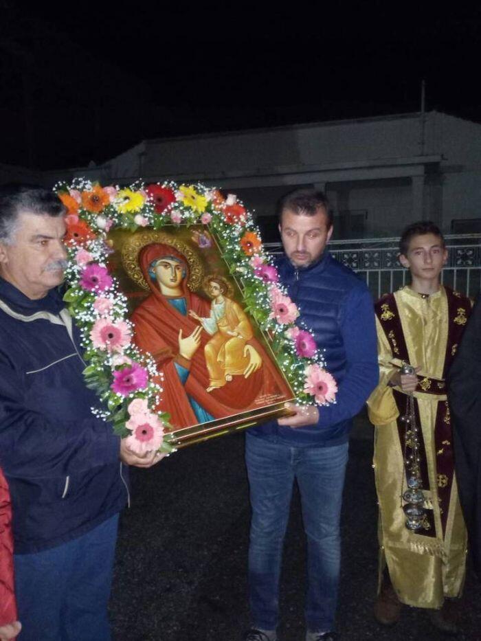 Λαμπρή Εορτή της Παναγίας Γοργοϋπηκόου στον Τύρναβο