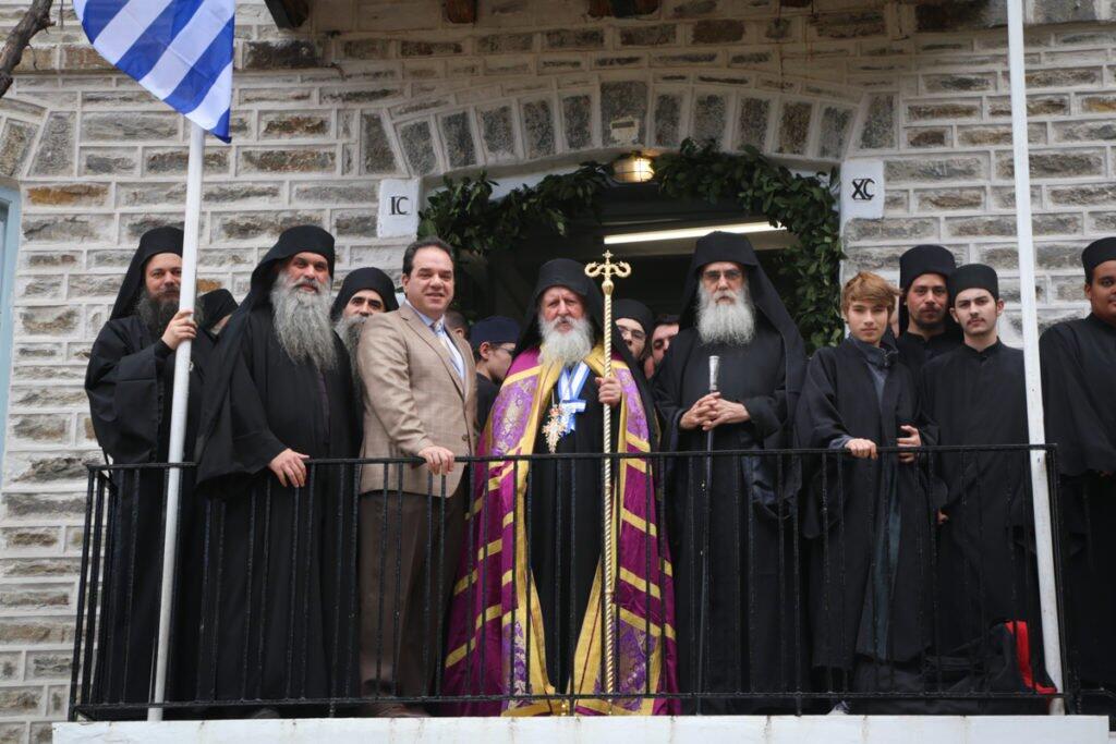 Λαμπρή εορτή της Υψώσεως του Τιμίου Σταυρού στην Αθωνιάδα
