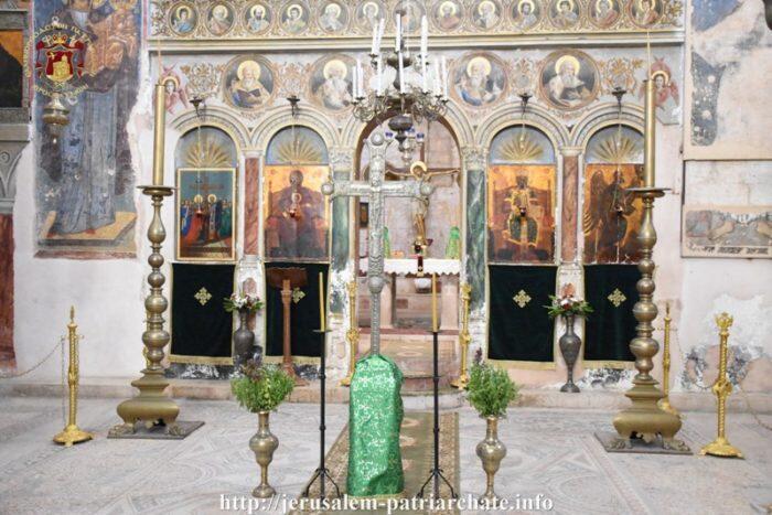Ιερουσαλήμ: Η Εορτή της Υψώσεως στην Ιερά Μονή Τιμίου Σταυρού