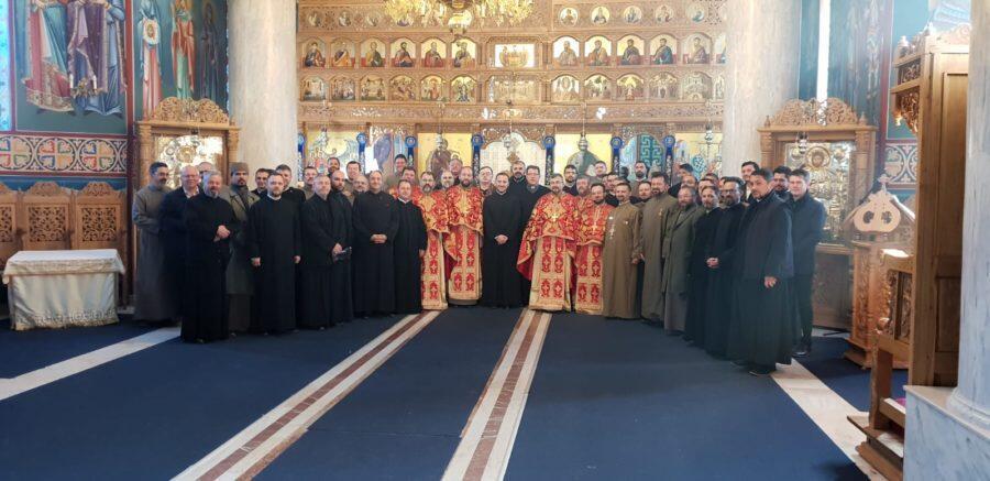Ρουμανία: Σύναξη Στρατιωτικών Ιερέων στο Μπουστένι