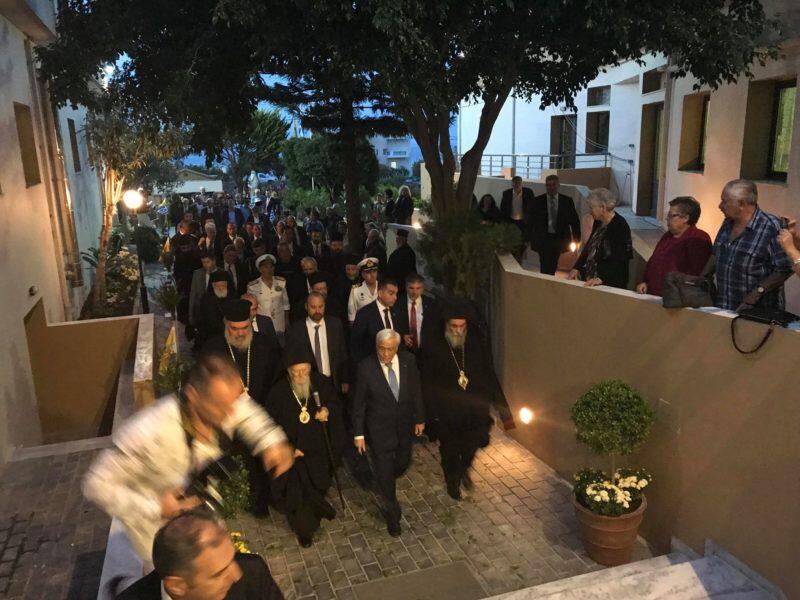 ΑΠΟΚΛΕΙΣΤΙΚΟ: Συγκίνηση στο Αννουσάκειο - Οικ. Πατριάρχης - ΠτΔ και Προκαθήμενοι στα εγκαίνια