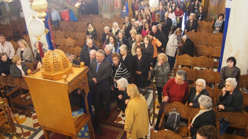 Η Μεταμόρφωση υποδέχθηκε τη θαυματουργή εικόνα της Παναγίας Βουλκανιωτίσσης