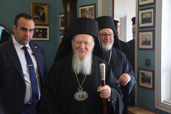 Ο Οικουμενικός Πατριάρχης στη Μονή Βλατάδων και το Άσυλο του Παιδιού