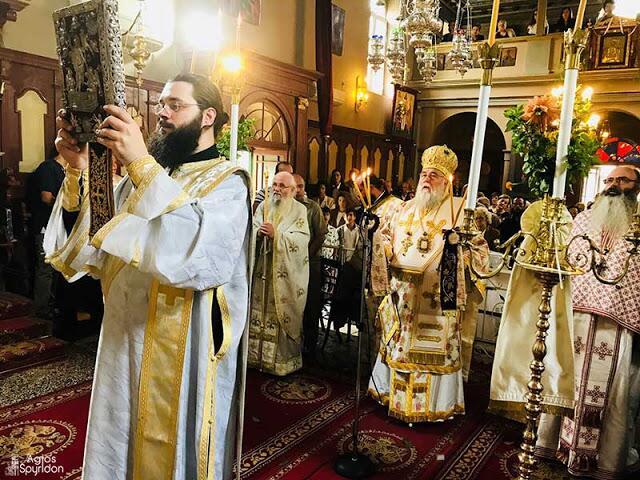 Λαμπρή εορτή των Αγίων Τριών Μαρτύρων στην Ι.Μ. Κερκύρας