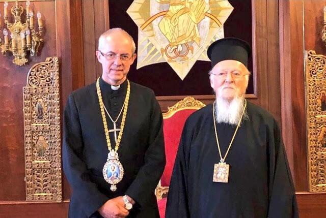 Στον Οικουμενικό Πατριάρχη ο Αρχιεπίσκοπος Καντουαρίας