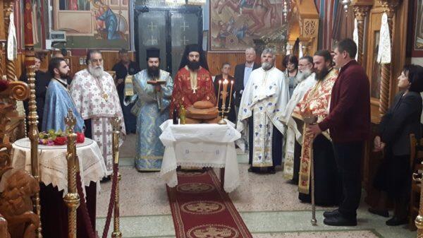 Αλιβέρι: Υποδοχή Ι. Λειψάνου του Αγ. Δημητρίου στον Άγιο Ιωάννη