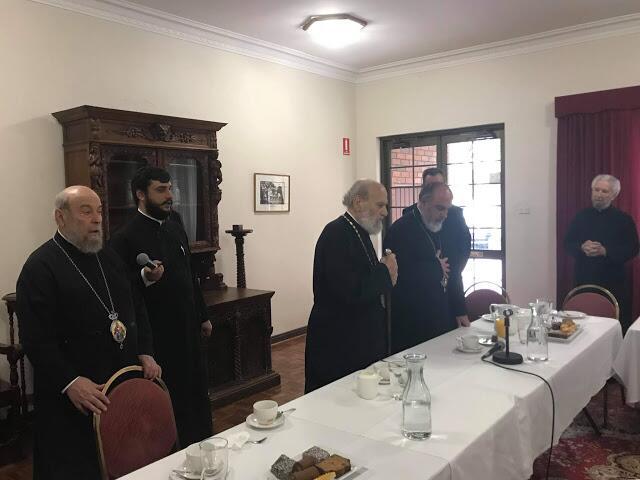 Συνάντηση Αρχιεπισκόπου Αυστραλίας Στυλιανού με τους Πρεσβυτέρους του Σίδνεϋ