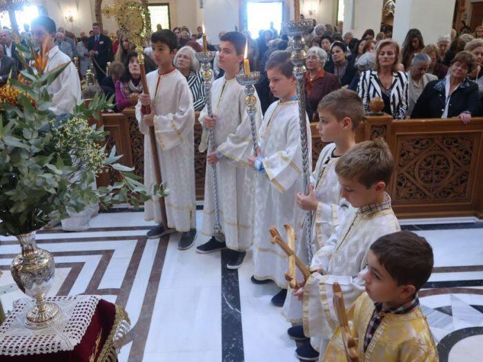 Δημήτρια 2018: Αρχιερατική Θεία Λειτουργία
