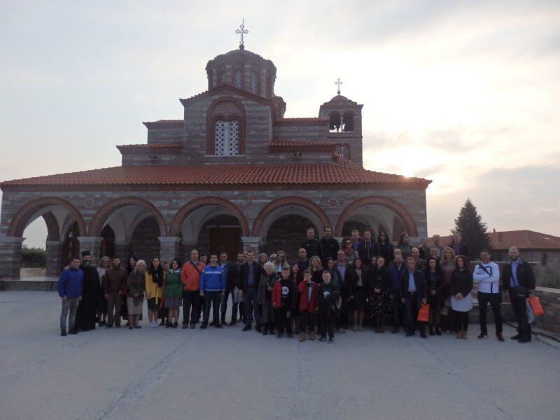 Νέοι του Αγίου Αχιλλίου σε Μονές της Β.Ελλάδας