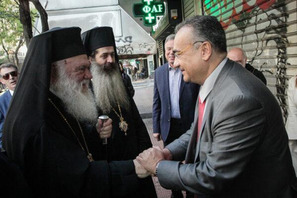 Αγιασμός στον Δ.Σ.Α. για τη νέα Δικαστική χρονιά από τον Αρχιεπίσκοπο
