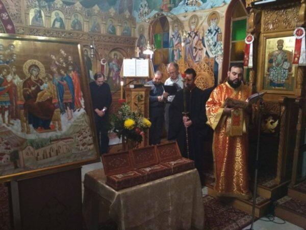 Ιερά Αγρυπνία στο Προσκύνημα του οσιομάρτυρος Νικολάου εν Βουναίνη
