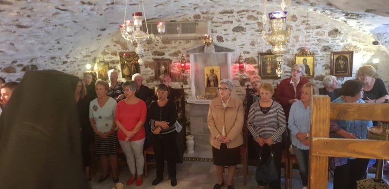 Ερμούπολη: Αγιασμός για την έναρξη πνευματικών συνάξεων ενορίας Αγίου Νικολάου