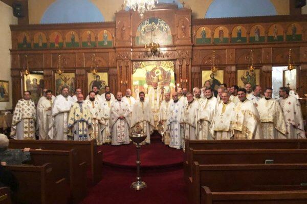 Μητρόπολη Τορόντο: Ετήσια Πνευματική Σύναξη Ιερέων Καναδά