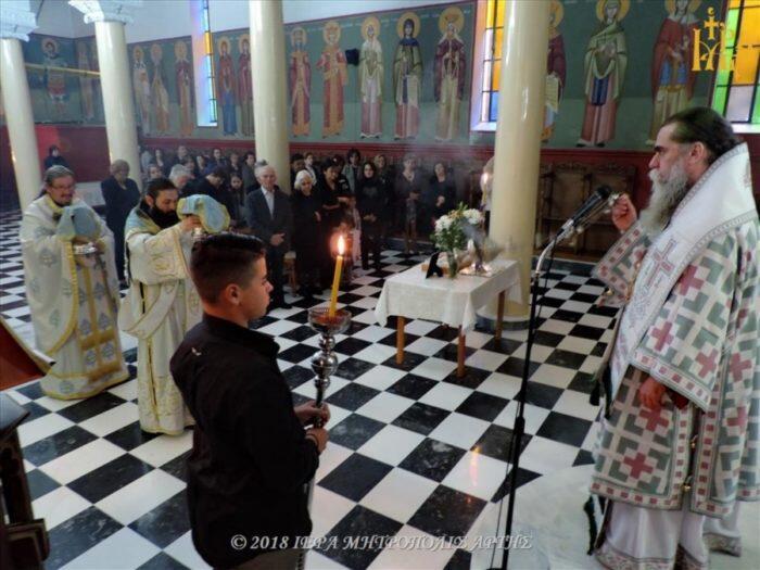 Άρτα: Κυριακή ΣΤ΄Λουκά στην Ενορία Κοιμήσεως Θεοτόκου Διχομοιρίου