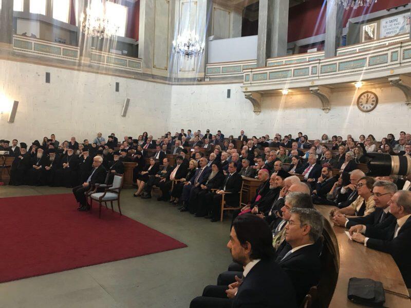 Ο Οικουμενικός Πατριάρχης στην επετειακή εκδήλωση περιοδικού