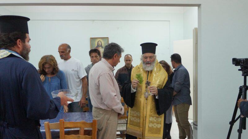 Κάλυμνος: Αγιασμός στη σχολή βυζαντινής μουσικής της Ιεράς Μητροπόλεως