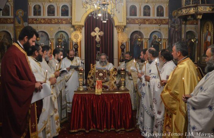 Η Θεία Λειτουργία του Αγίου Ιακώβου του Αδελφοθέου στον Κάμπο Αβίας