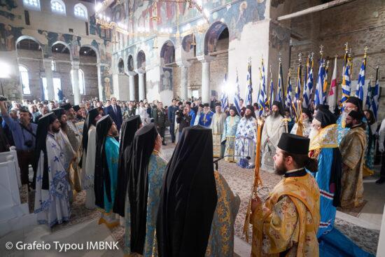 Δοξολογία στον Παλαιό Μητροπολιτικό Ναό Βεροίας για την 106η επέτειο της απελευθέρωσης της πόλεως