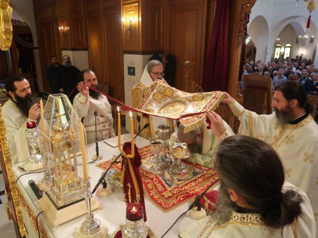 Δημήτρια 2018: Δισαρχιερατική Θεία Λειτουργία